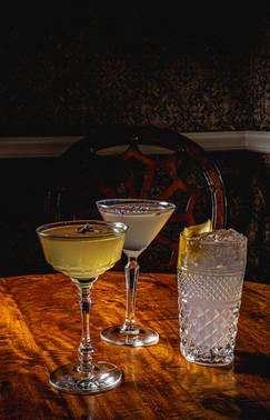 Lavendar Cocktails at The Charles