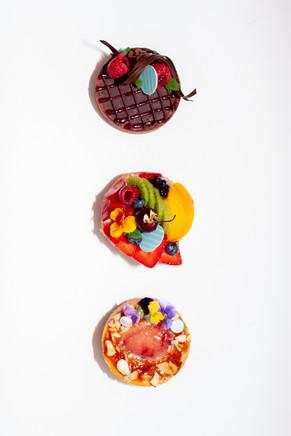 Chef Carlos Perez' Pastries