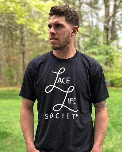 Black Stacked Logo T-Shirt