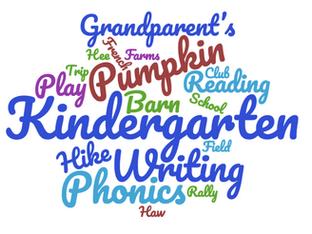 Kindergarten 6 Week Recap