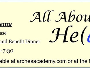 """Tickets On Sale for """"All About He(art)"""" Fine Arts Showcase and Scholarship Fund Benefit Di"""