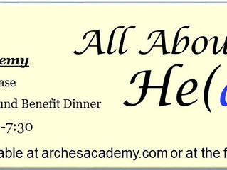 "Tickets On Sale for ""All About He(art)"" Fine Arts Showcase and Scholarship Fund Benefit Di"
