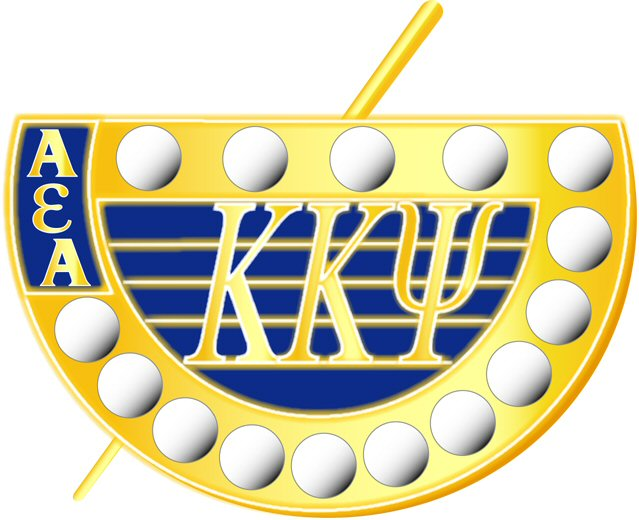 KKΨ Crown Pearl Badge