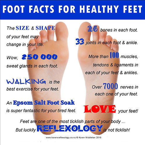 Foot facts for healthy feet