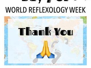 DAY 7 of WORLD REFLEXOLOGY WEEK 2020