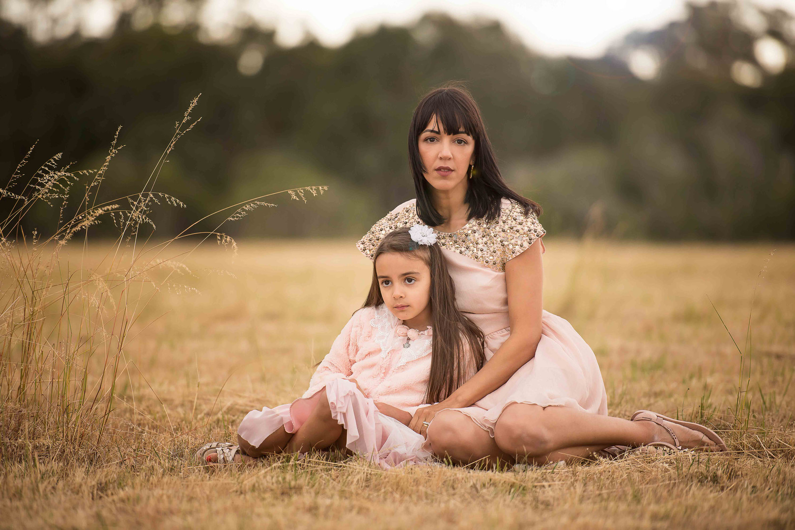 Mother and daughter at Perrys paddock, Perth WA