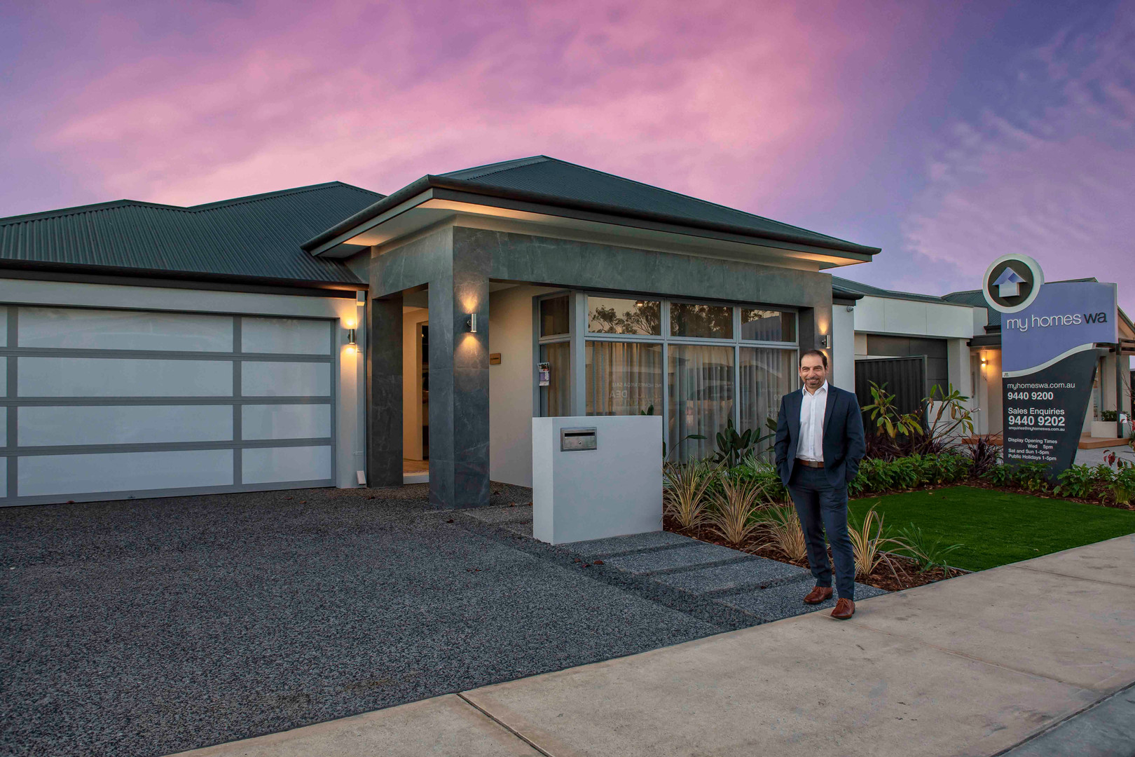 Perth commercial photographer My Homes WA