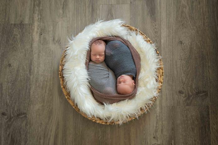 perth newborn twins photography