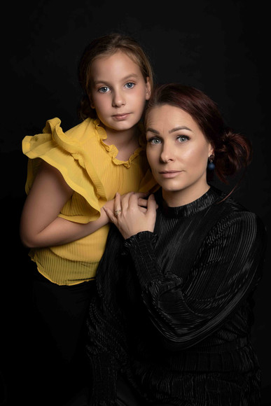 Perth family Fine art studio photography