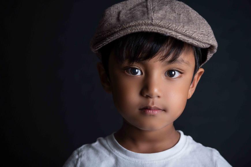 Perth childrens Fine art studio photography