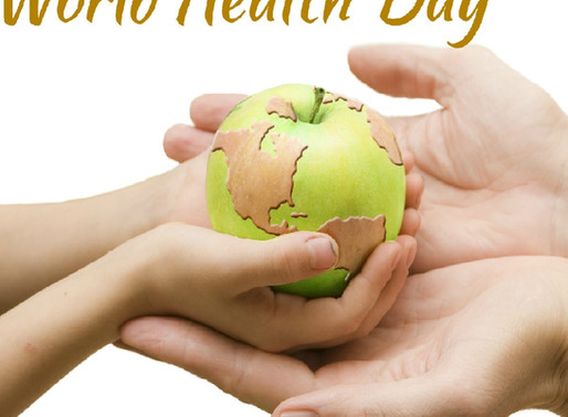 Today is World Health Day!
