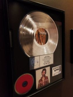 Mary Platinum Record