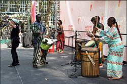 Drummers to kick off the rally