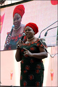 The First Lady of Zambia