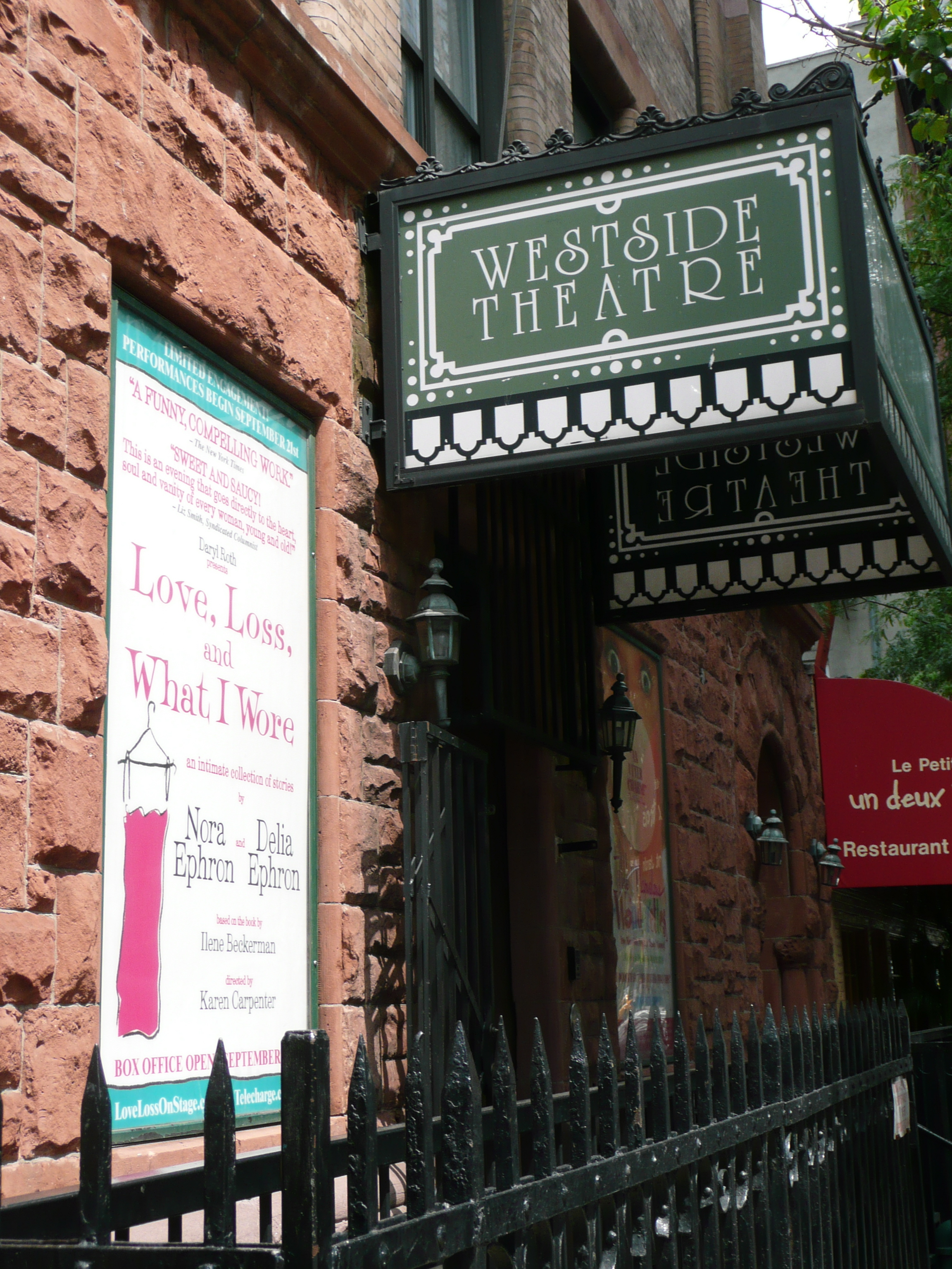 Westside Marquee and Window Card