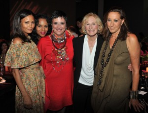 Donna with Glenn Close