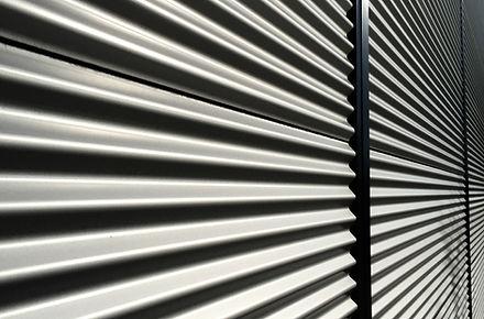 Textura de la puerta de garaje