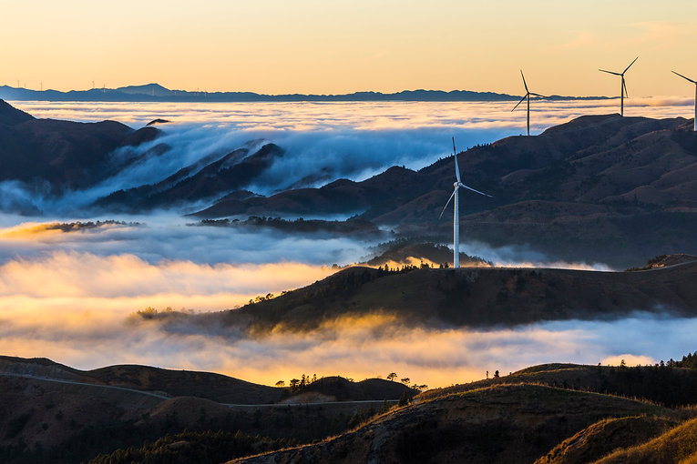 Wind-Power-in-the-sea-of-clouds,Guilin,C