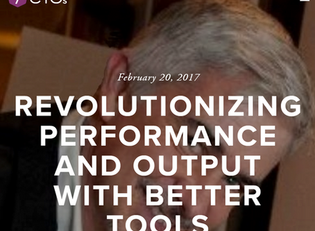 Revolutionizing Performance and Output with Better Tools