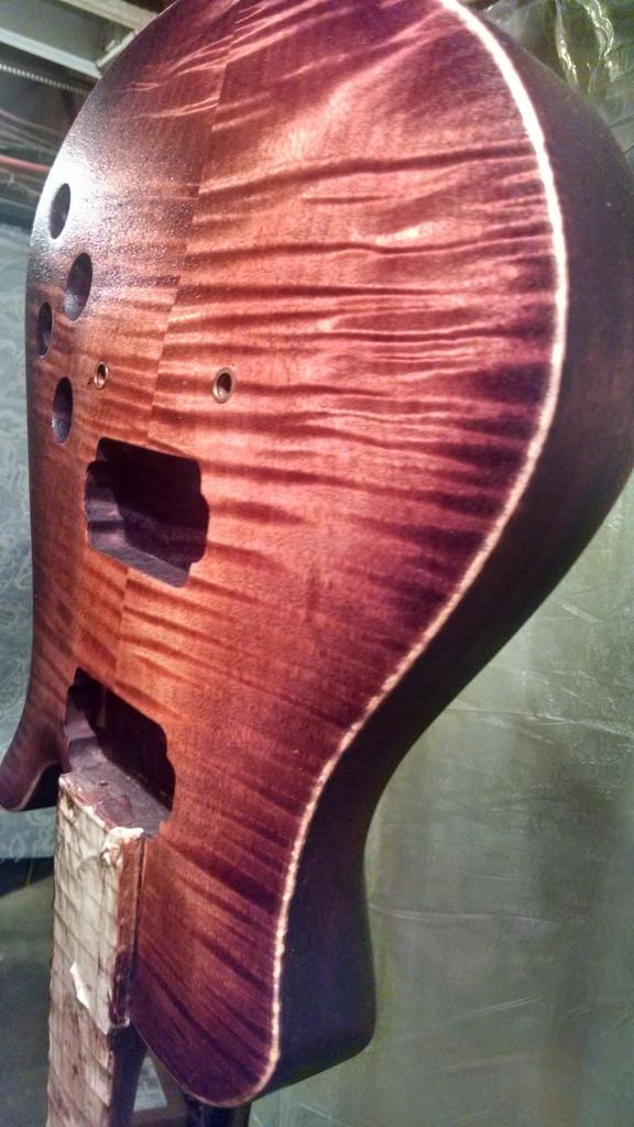 Custom Guitar Finishing
