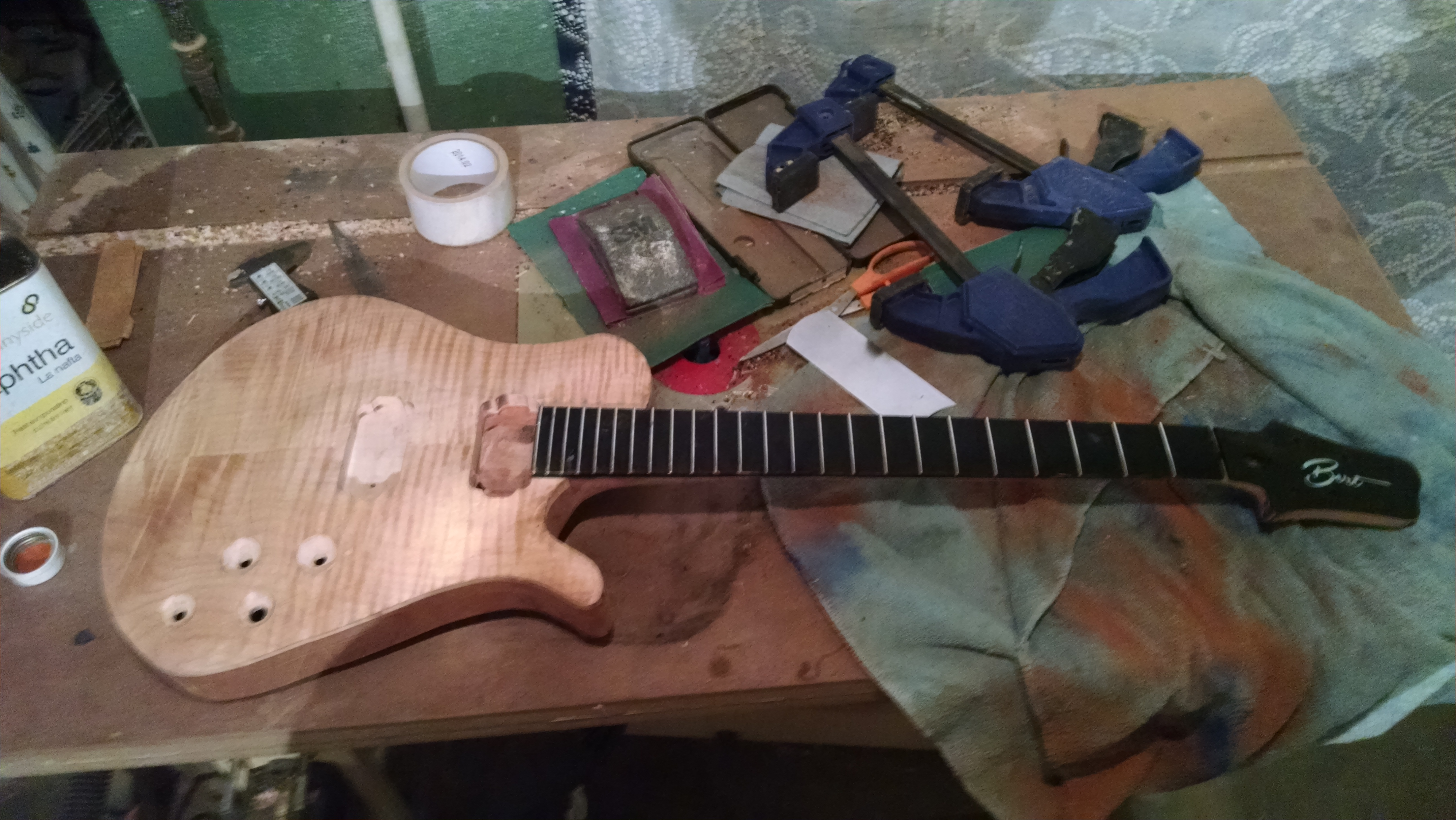 Vayu Custom Guitar