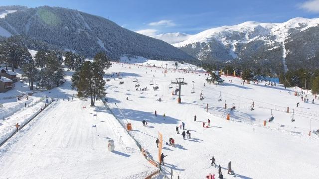 Pista esquí La Molina