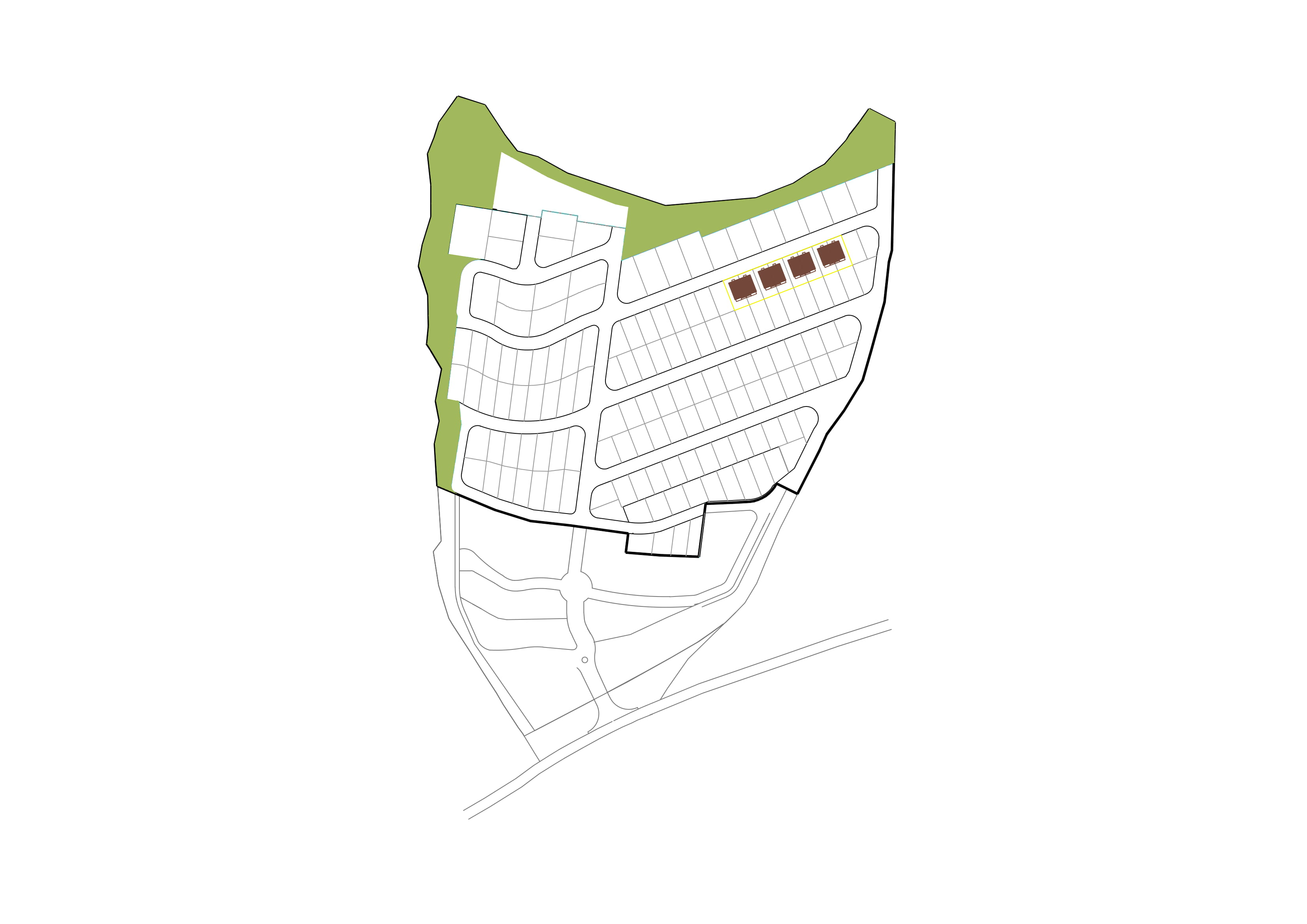 Plano urbanización