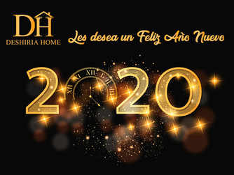 Deshiria Home les desea un Feliz Año 2020