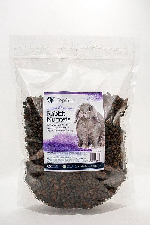 Topflite Super Premium Rabbit Nuggets 3kgs