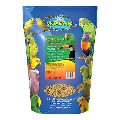 Vetafarm Paradise Pellets 2kgs