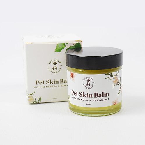 Pet Skin Balm - With Manuka & Kawakawa