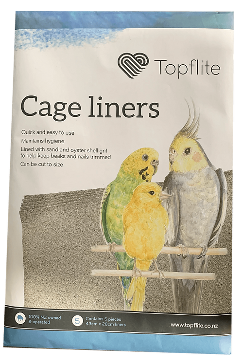 Topflite Cage Liners 5pk