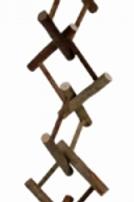 Natural Bird Ladder 50cm - 12 Rung