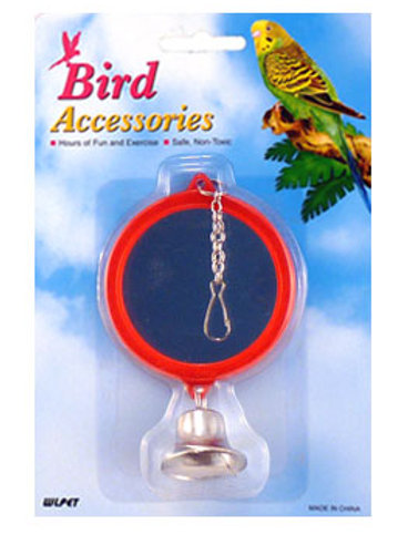 Round Mirror with Bell - 2 sided ^7.5cm