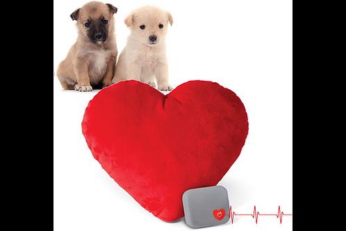 Mother's Heartbeat Puppy Heart Pillow Medium 20cm