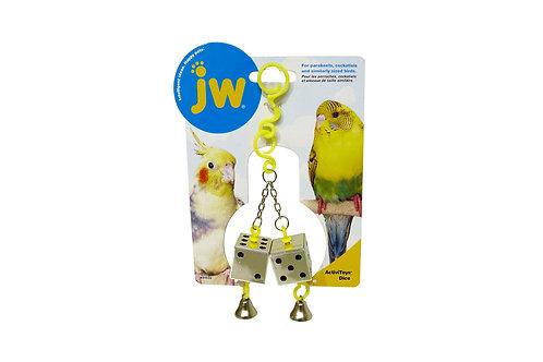 JW ActiviToy Dice & bell
