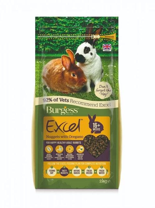 Burgess Adult Rabbit Oregano 2kg