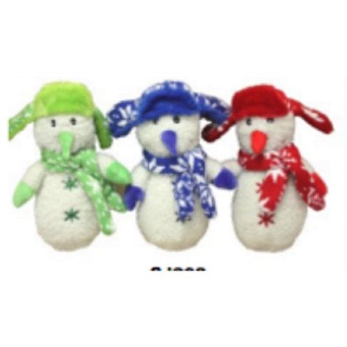 Snowman with Fleece Scarf
