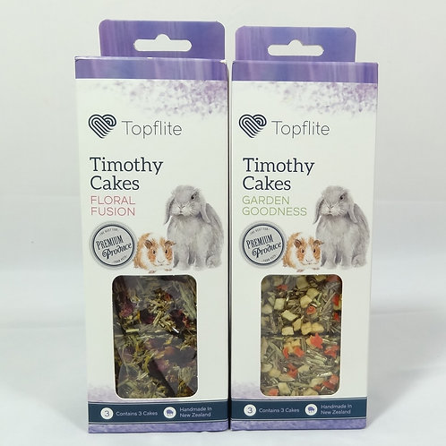 Timothy Cakes – Rabbit & Guinea Pig Treats