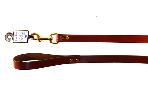 Redwood Leather Lead