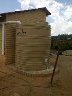JoJo Tank at Ethembalethu township