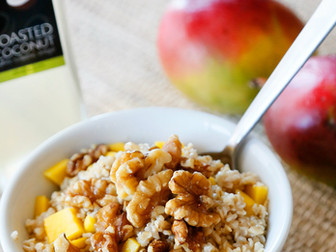 Coconut Mango Steel Cut Oats