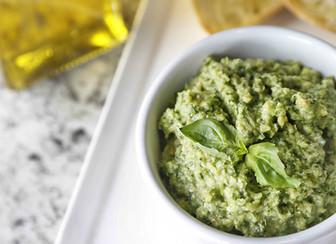 Zucchini Almond Pesto
