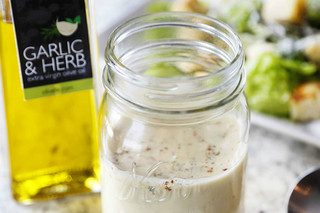 Garlic Parmesan Caesar Dressing