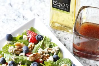 Spinach Walnut Berry Salad
