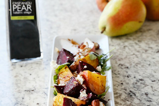 Roasted Beet, Pear & Nut Salad