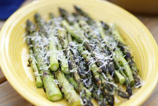 Parmesan Asiago Grilled Asparagus
