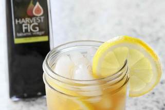 Sparkling Fig Balsamic Lemonade