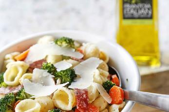 Italian Pasta Salad With A Classic Vinaigrette