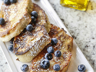 Blood Orange French Toast